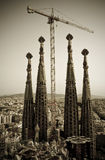 La sagrada familia Barcelona Royalty Free Stock Photo