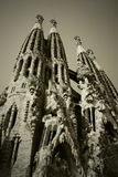 La sagrada familia Barcelona Royalty Free Stock Photos