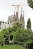 la sagrada familia barcelona Стоковые Фото