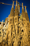 la sagrada familia barcelona Стоковое Изображение RF