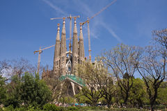 La Sagrada Familia, Barcelona Stock Photography