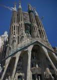 La Sagrada Familia,Barcelona, Antoni Gaudí. La Sagrada Familia,Barcelona,Catalonia,sky, heaven,Antoni Gaud Royalty Free Stock Photo