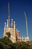 La Sagrada Familia in Barcelona, Spain Royalty Free Stock Image