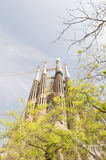 La Sagrada Familia in Barcelona, Spain Stock Photos