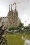 La sagrada familia in Barcelona. Spain stock photos