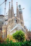 La Sagrada Familia in Barcelona Stock Photos