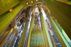 La Sagrada Familia 2013 Royalty Free Stock Photography