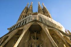 La Sagrada Familia, Barcelona, Spain Stock Photos