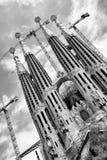 La Sagrada Familia cathedral Royalty Free Stock Photo