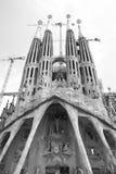 La Sagrada Familia cathedral Stock Photo