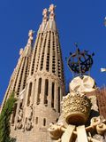 La Sagrada Familia Church-Barcelona Stock Image