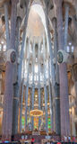 La Sagrada Familia Church Barcelona Spain Stock Photography