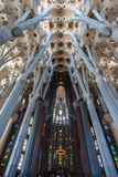 La Sagrada Familia Church Barcelona Spain Royalty Free Stock Photography