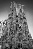 La Sagrada Familia en Barcelona is one of the most iconic buildi Stock Photo