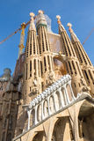 La Sagrada Familia - the impressive cathedral designed by Gaudi Royalty Free Stock Photography
