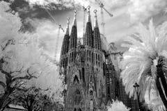 La Sagrada Familia Royalty Free Stock Photo