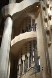 La Sagrada Familia interior Royalty Free Stock Image