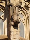 La Sagrada Familia Lizard Sculpture Stock Photography