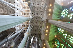 La Sagrada Familia Royalty Free Stock Photo