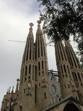 La Sagrada Familia3 Royalty Free Stock Photo