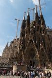 La Sagrada Familla Royalty-vrije Stock Afbeelding