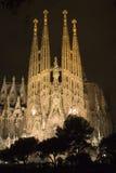 la sagrada gaudi familia barcelona Стоковые Фотографии RF
