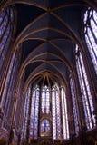 La Sainte-Chapelle. A beautifull chapel Stock Image