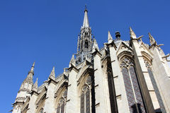 La Sainte-Chapelle In Paris Stock Photos