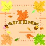 la saison d'automne illustration de vecteur