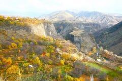 La saison d'automne dans la ville d'Erevan, l'Arménie Photo libre de droits