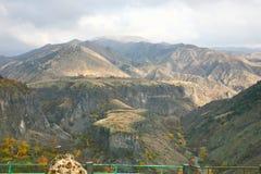 La saison d'automne dans la ville d'Erevan, l'Arménie Photographie stock