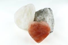 La sal de roca es sana Imágenes de archivo libres de regalías