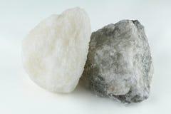 La sal de roca es sana Fotos de archivo