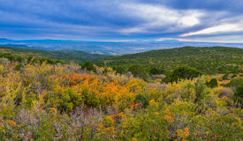 La Sal Mountain Byway in the Fall Stock Photo