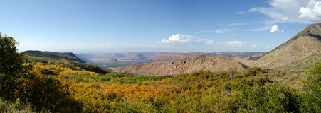 La Sal mountain panorama Royalty Free Stock Photos