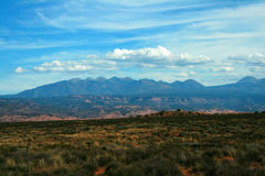 La Sal Mountains, Moab Utah Royalty Free Stock Photo