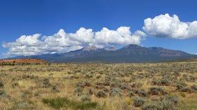 La Sal Mountains, Utah Royalty Free Stock Images