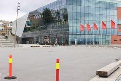 La sala da concerto di Stavanger, Norvegia, Europa Immagine Stock