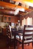 La sala da pranzo di lusso Fotografie Stock