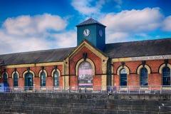 La sala de bombas en el cuarto titánico, Belfast, Irlanda del Norte Fotografía de archivo libre de regalías