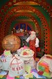 La sala de correo de Papá Noel Fotos de archivo