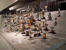 La sala de trofeos Fotos de archivo libres de regalías