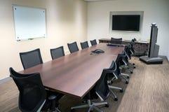 La sala del consiglio Fotografia Stock