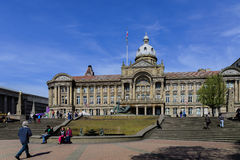 La sala del consiglio, Birmingham fotografie stock