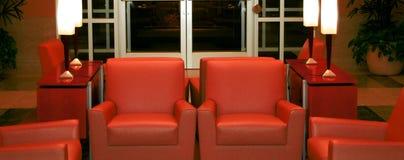 La sala di attesa Immagine Stock