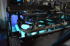 La sala macchine del bowling Immagini Stock Libere da Diritti