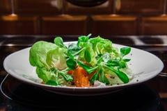 La salade de potiron Images libres de droits