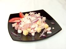 La salade du chef. Photo stock