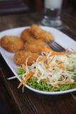La salade du plat Photo libre de droits