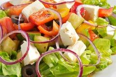 La salade grecque Photographie stock libre de droits